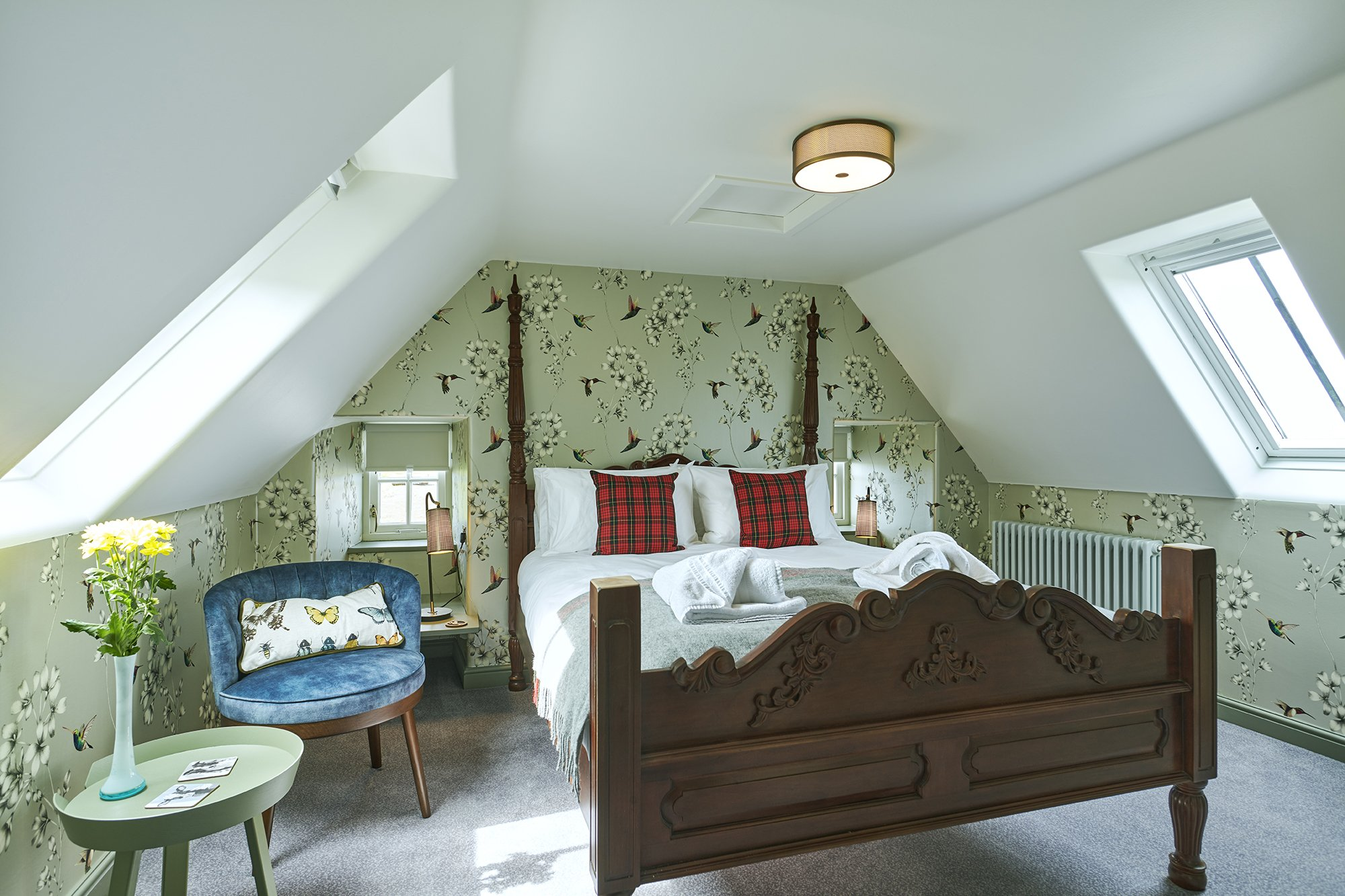 Floras Room - Luxury Suite - Isle of Skye - Monkstadt 1745